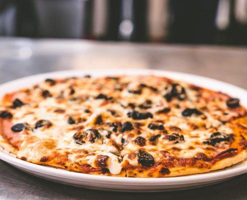 Pizza harap-alb